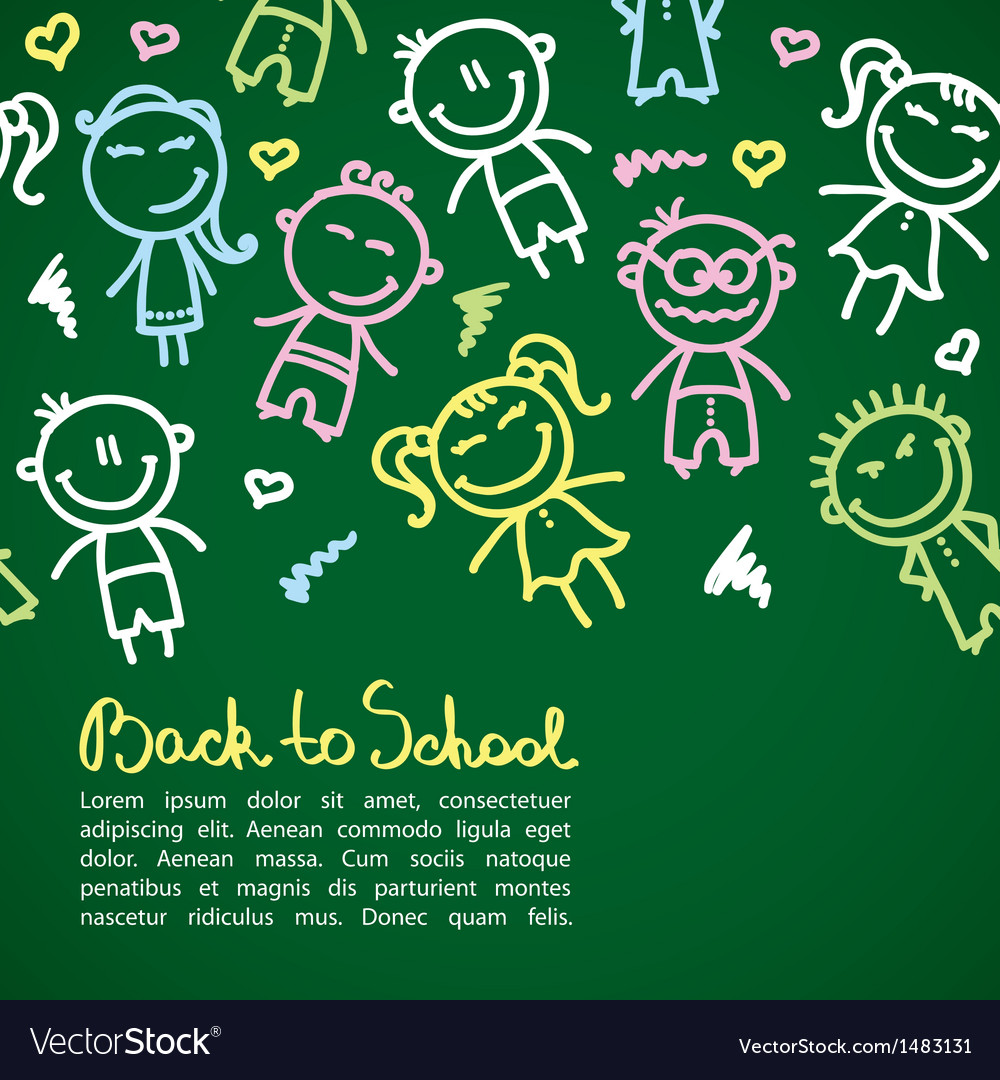 Kid background vector | Price: 1 Credit (USD $1)