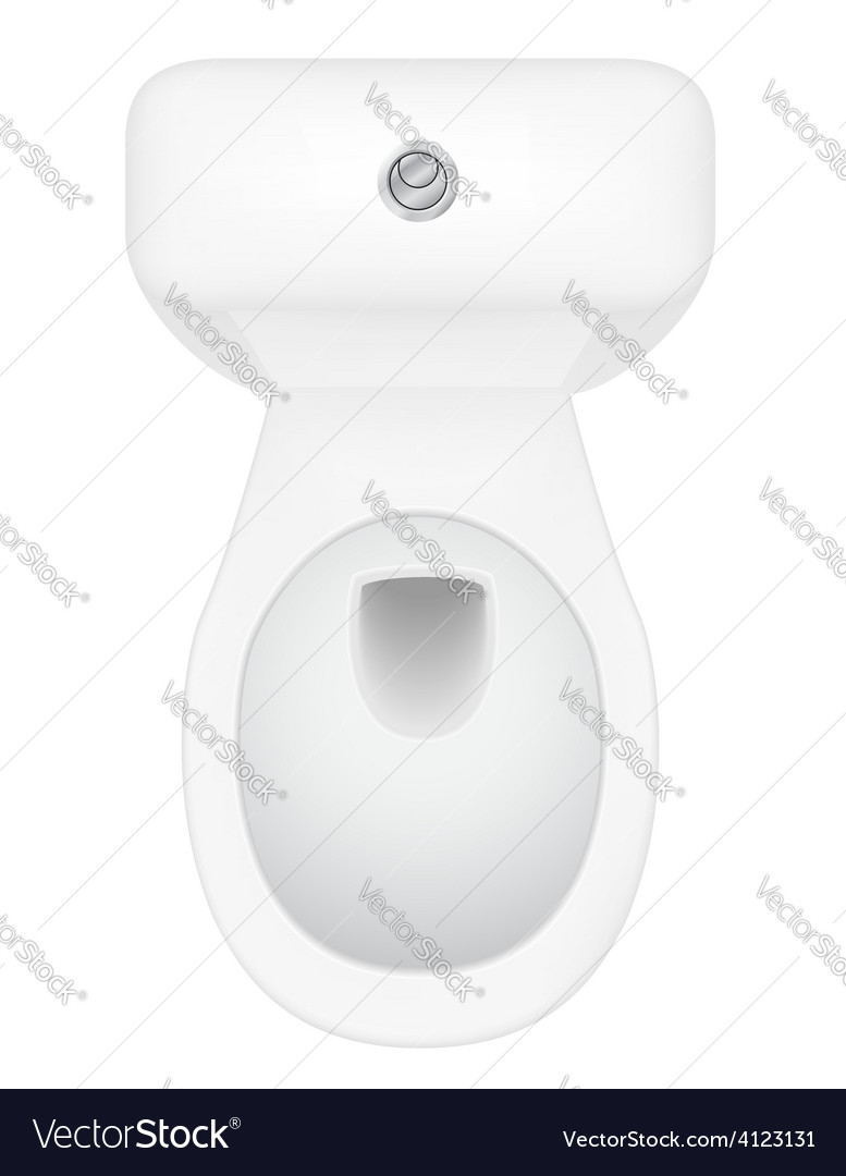 Toilet bowl 04 vector | Price: 1 Credit (USD $1)
