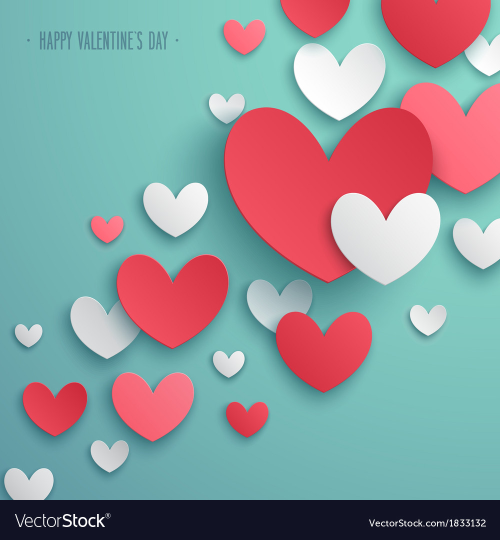 Paper hearts 01 vector | Price: 1 Credit (USD $1)