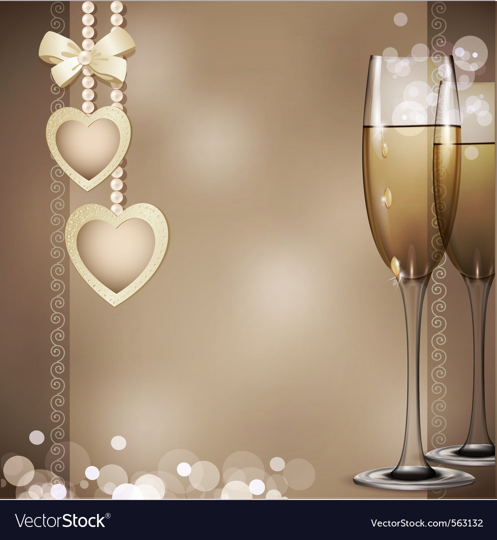 Romantic background vector | Price: 1 Credit (USD $1)