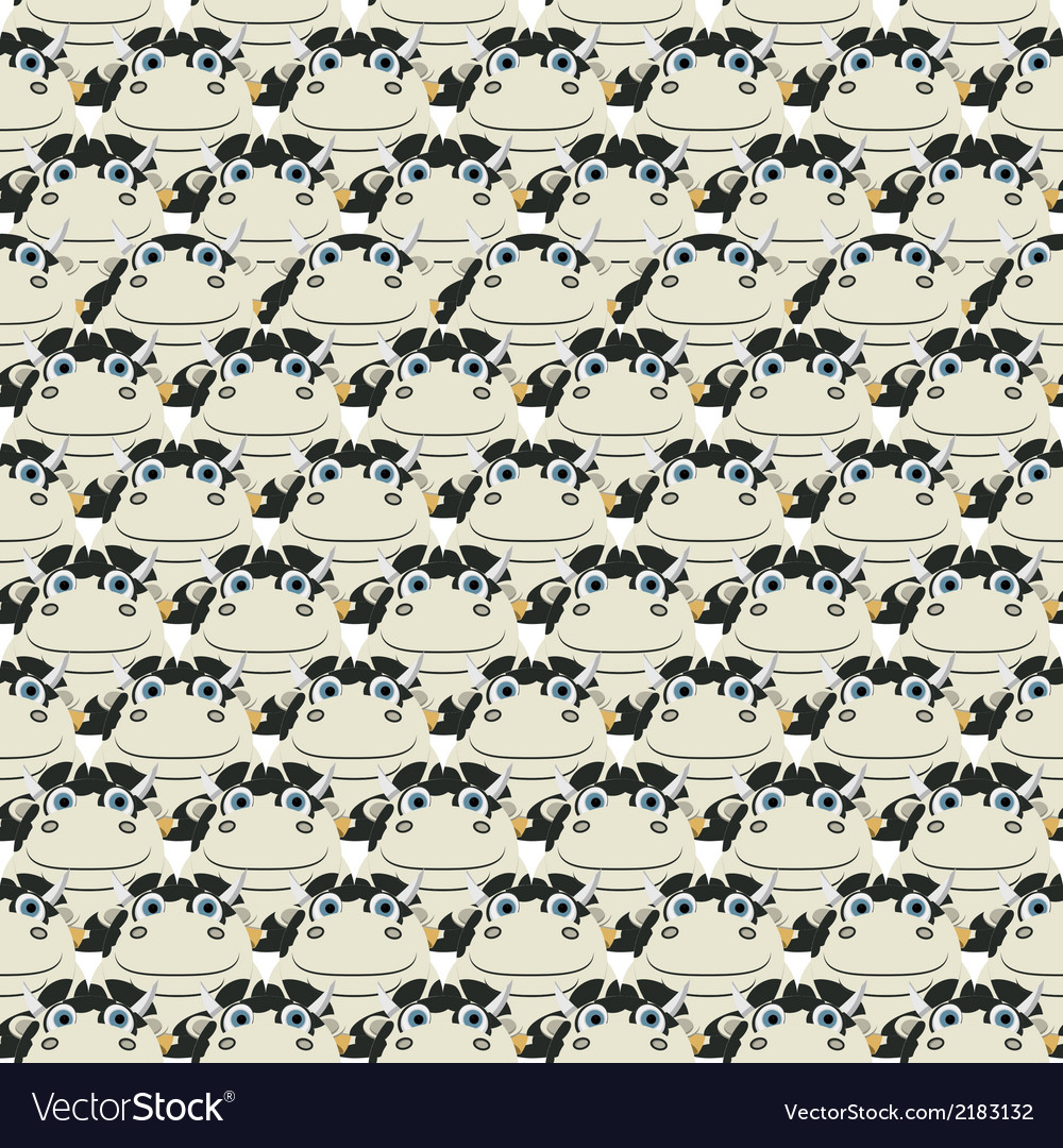 Stacked cows pattern vector   Price: 1 Credit (USD $1)