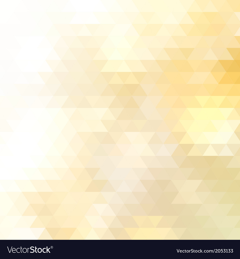 Abstract yellow triangle geometrical  eps10 vector | Price: 1 Credit (USD $1)