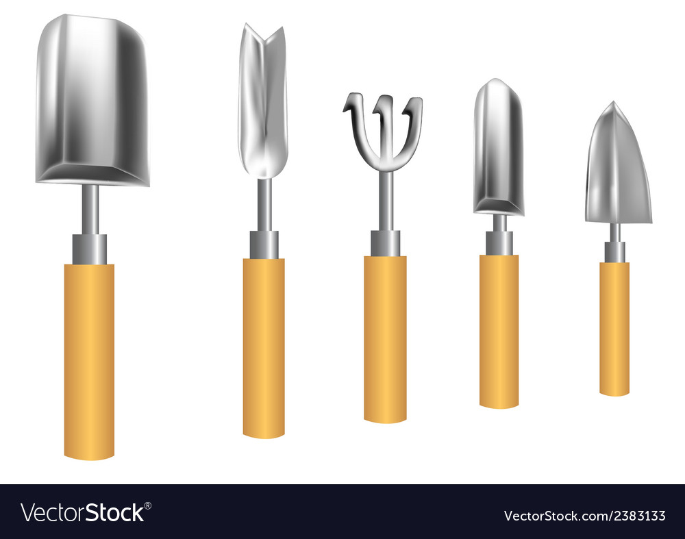 Gardening tools vector | Price: 1 Credit (USD $1)