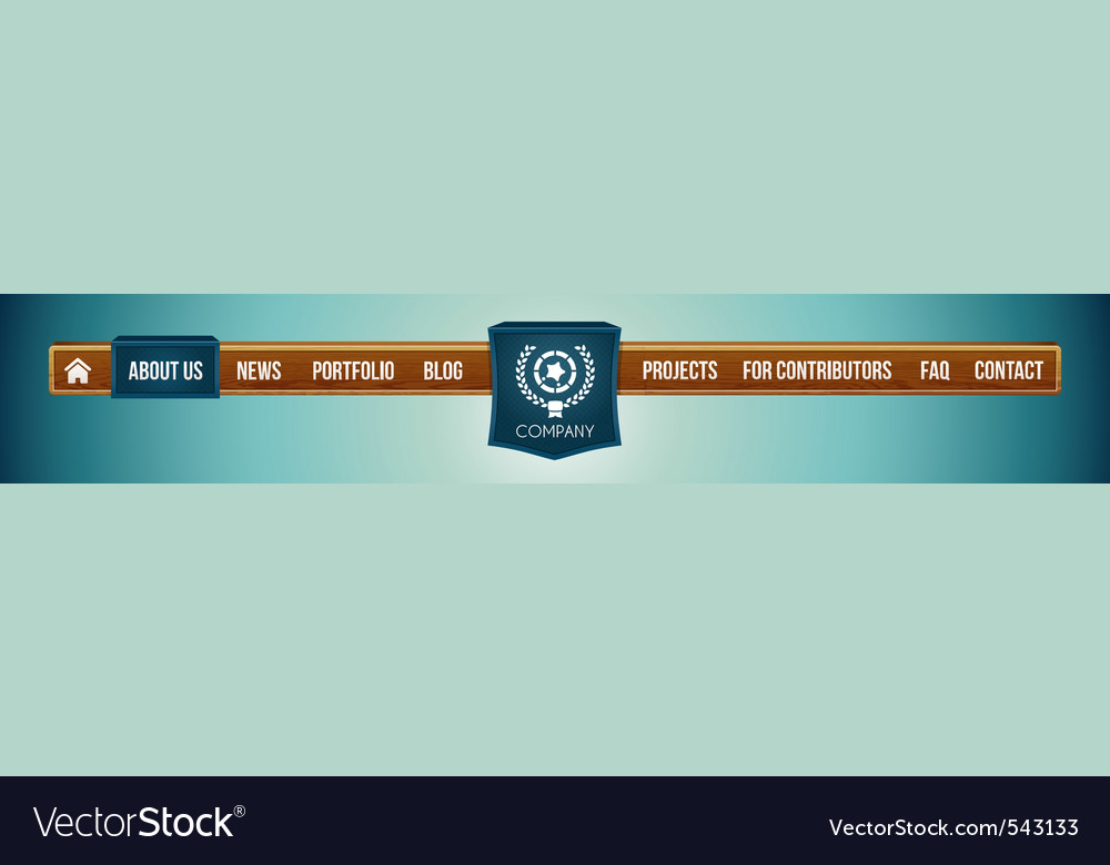 Website menu bar vector   Price: 1 Credit (USD $1)
