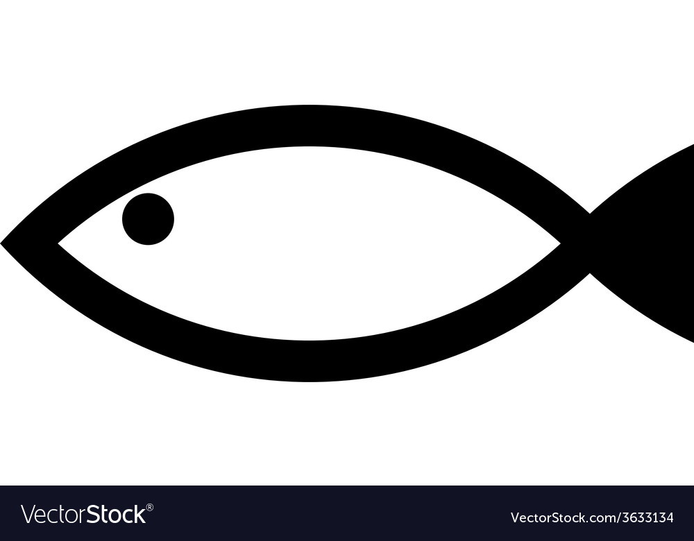 Fish icon vector   Price: 1 Credit (USD $1)