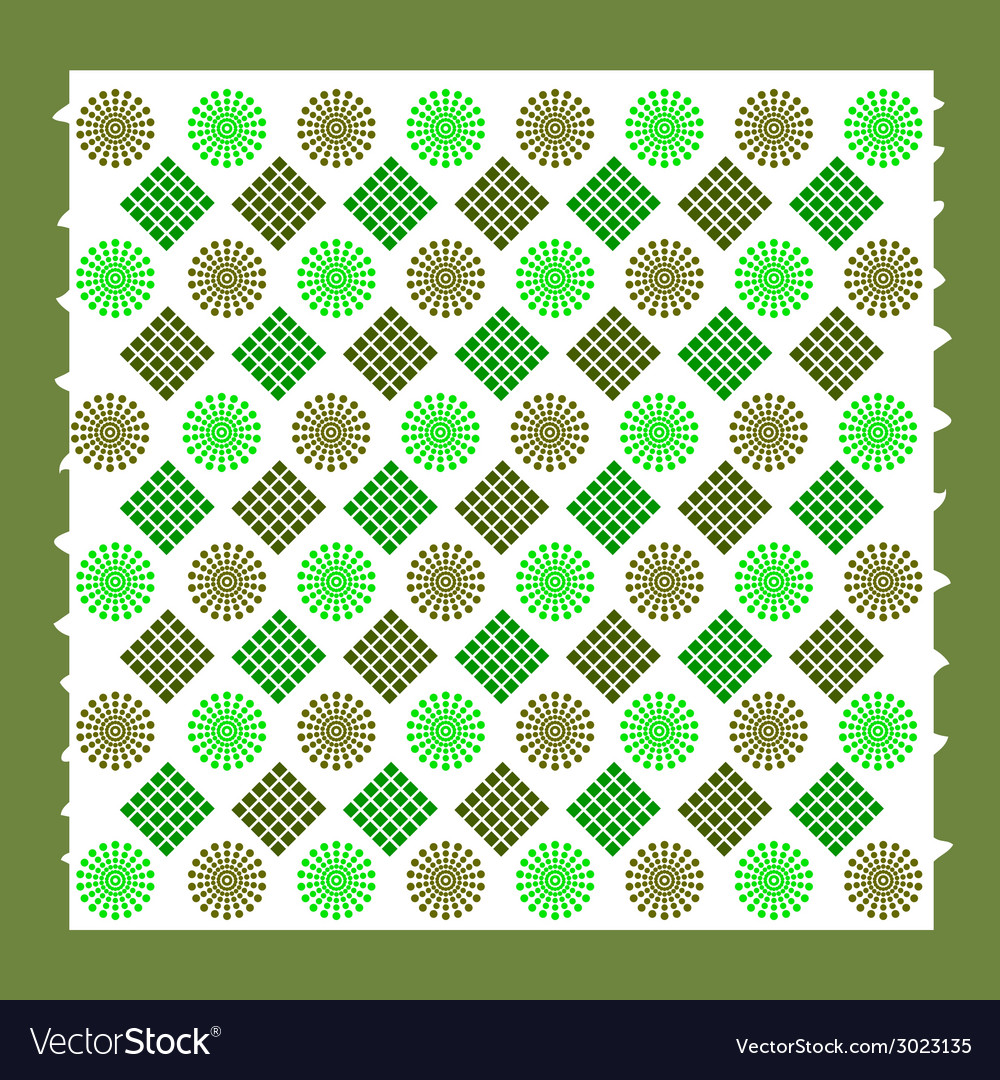 Background with green element vector | Price: 1 Credit (USD $1)