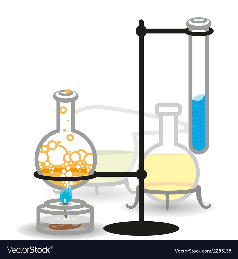 Chemical bottels vector | Price: 1 Credit (USD $1)