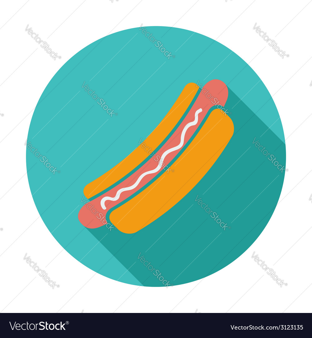 Hot dog vector | Price: 1 Credit (USD $1)