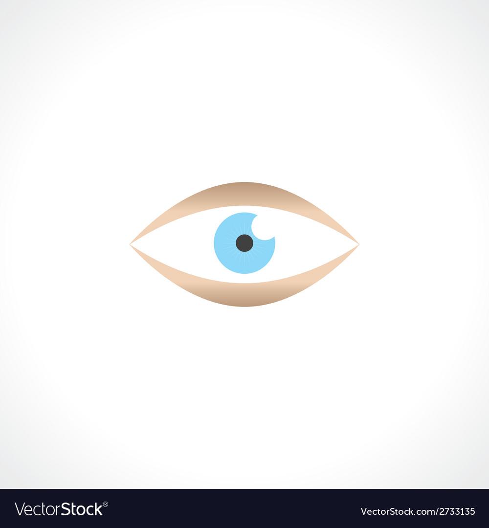 Human eye vector | Price: 1 Credit (USD $1)
