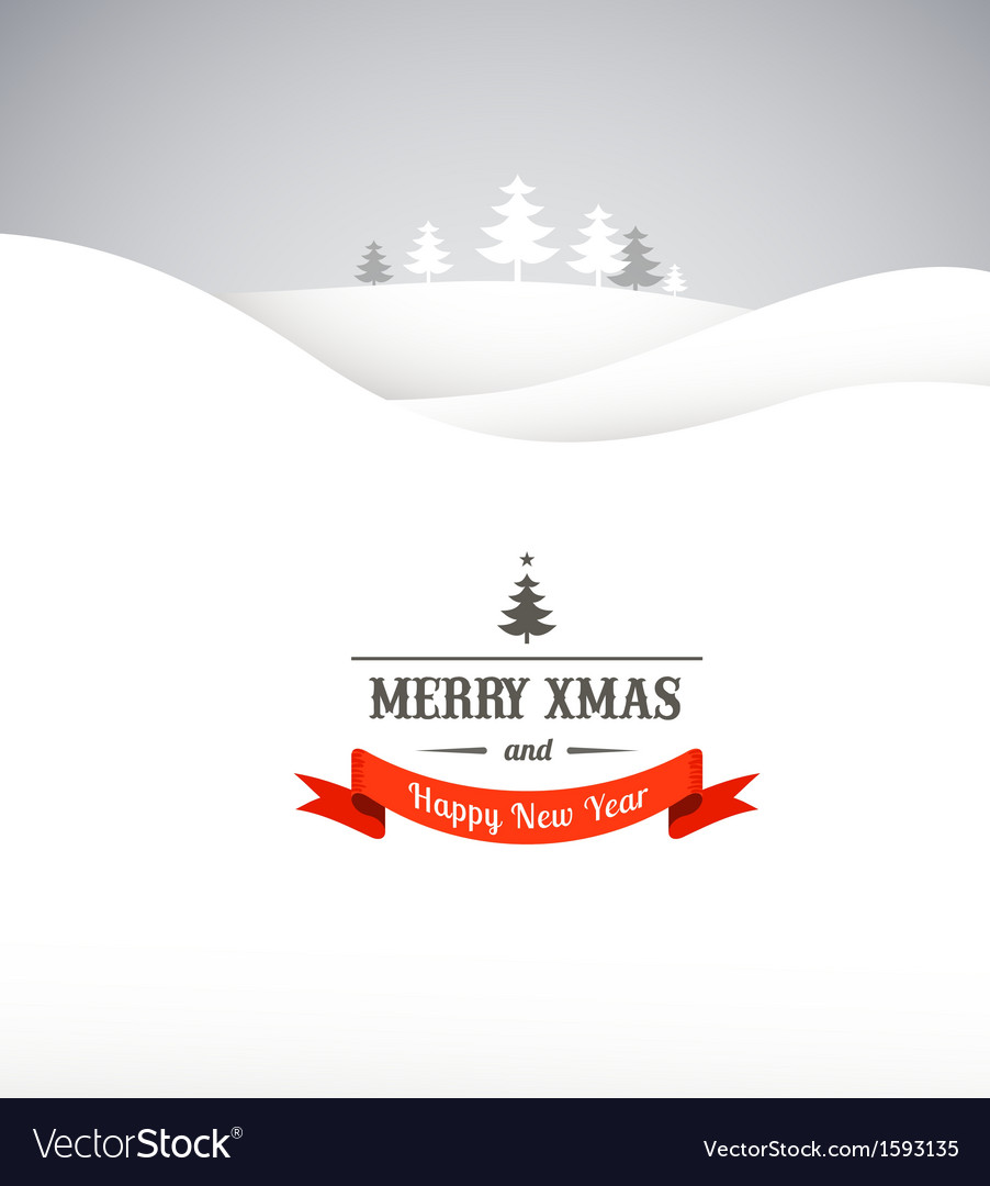 Vintage xmas greeting card and background vector | Price: 1 Credit (USD $1)