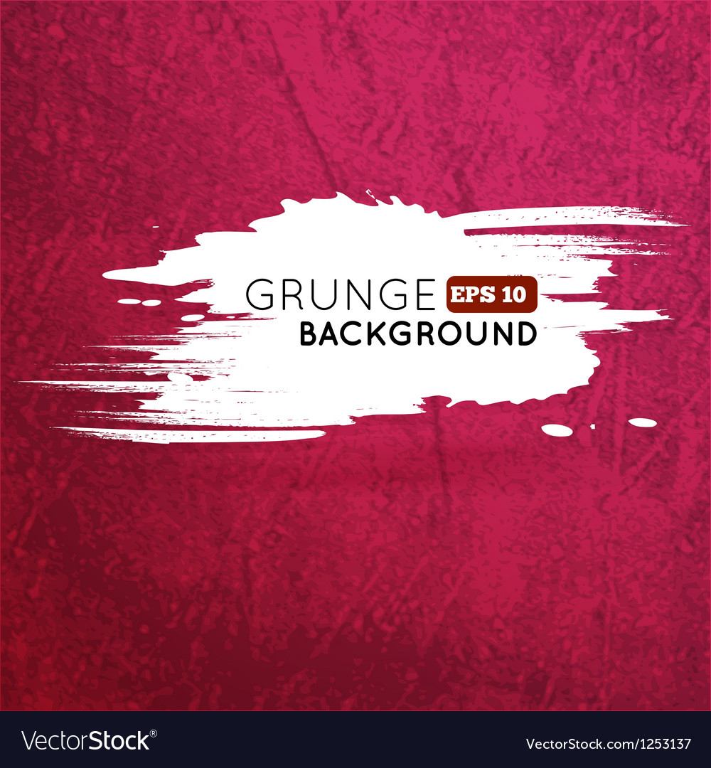 Grunge vine background with splash banner vector | Price: 1 Credit (USD $1)