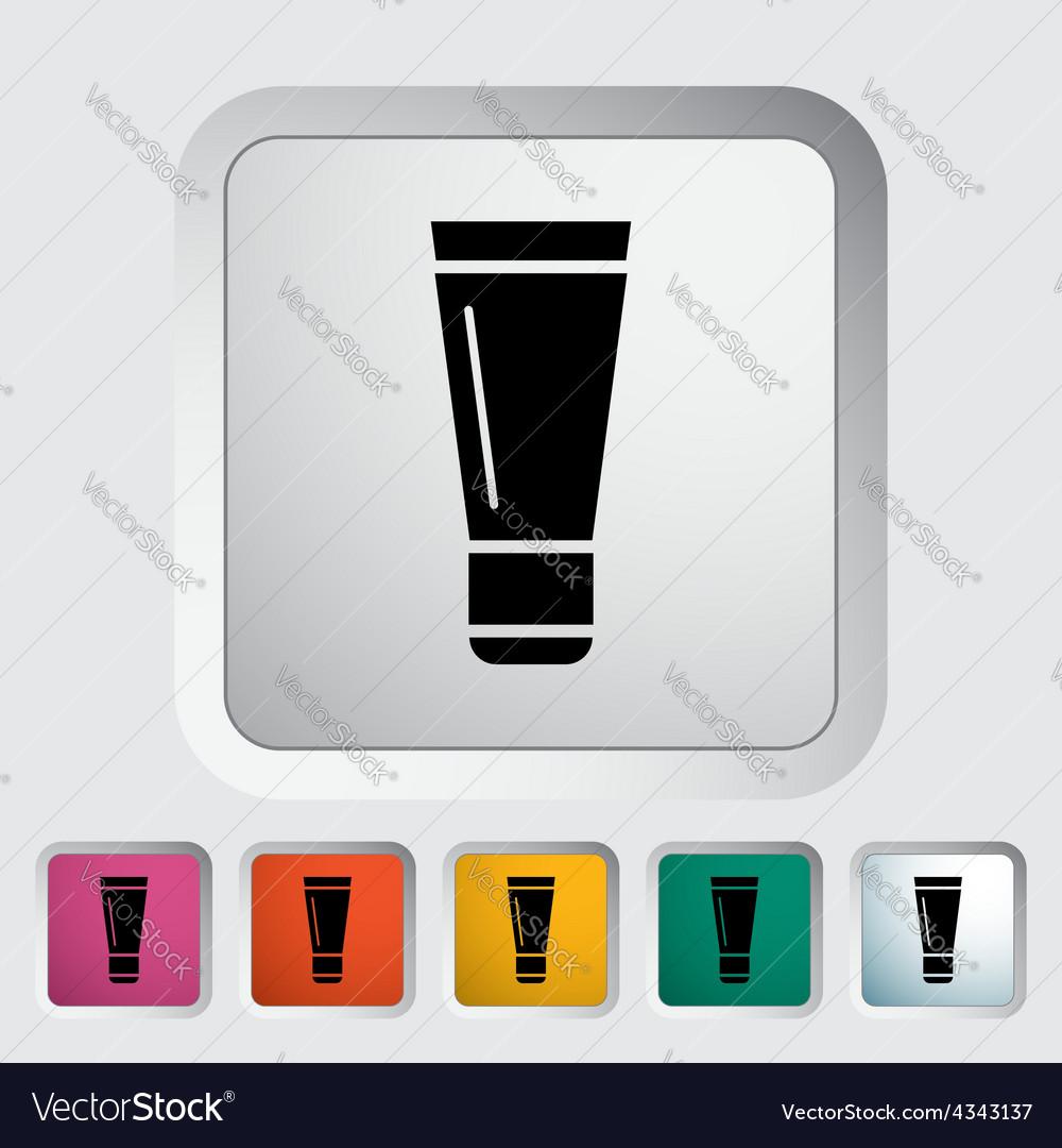 Tube icon vector | Price: 1 Credit (USD $1)