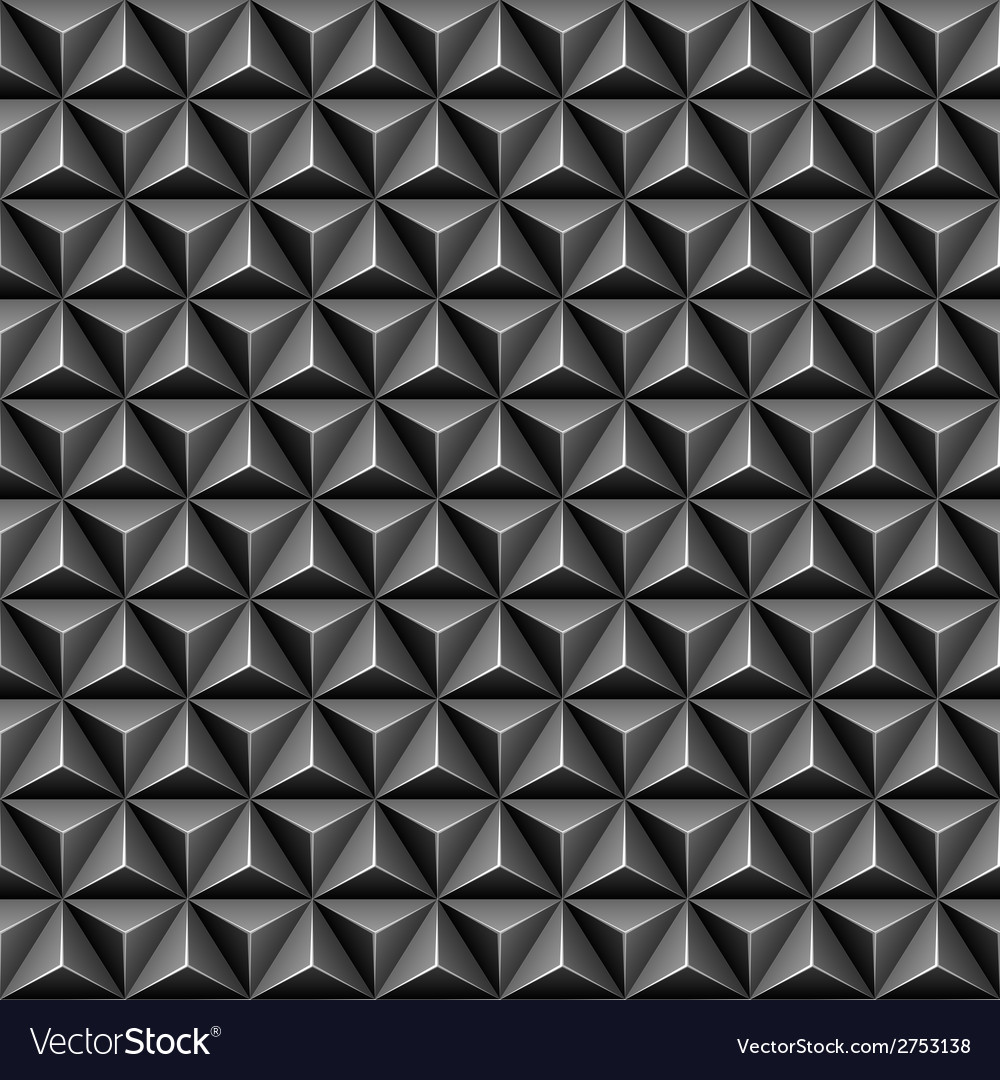 3d triangle seamless pattern vector | Price: 1 Credit (USD $1)