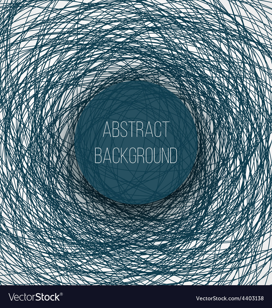 Abstract blue chaotic sketch lines background and vector | Price: 1 Credit (USD $1)