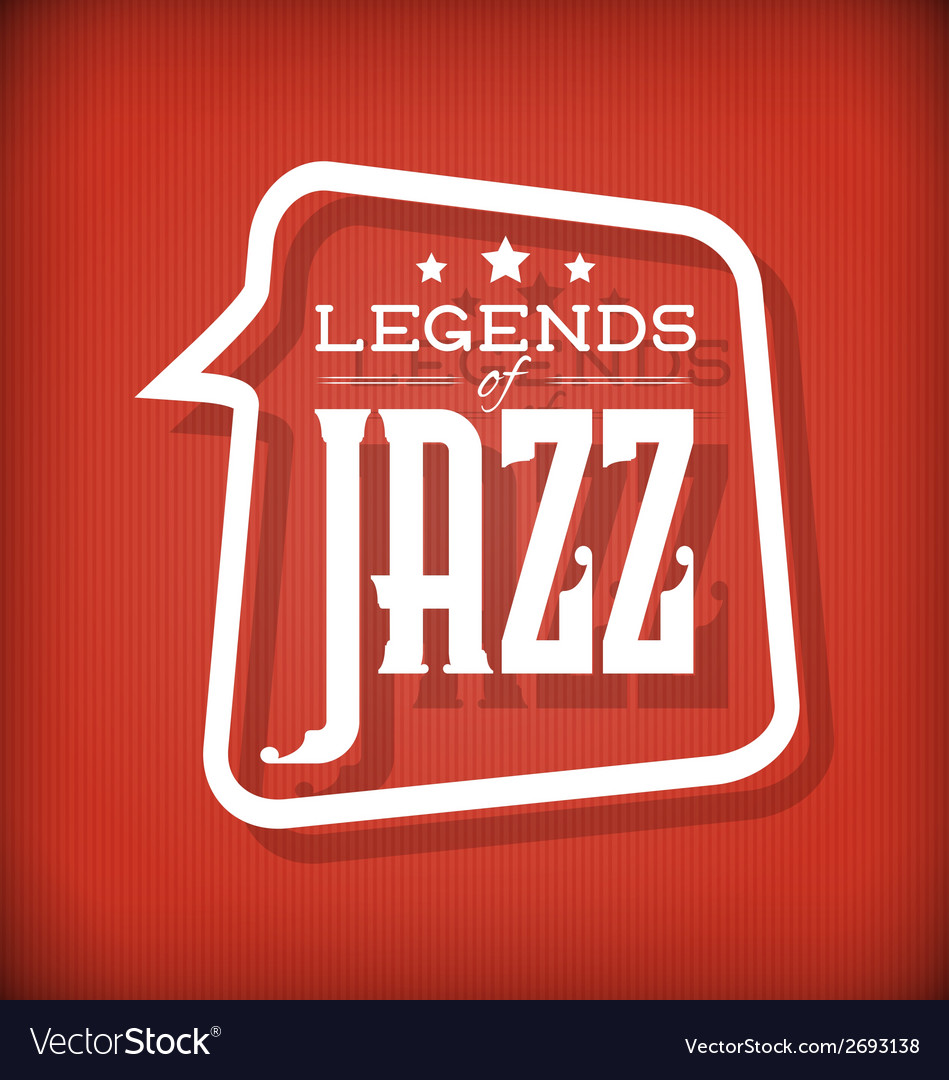 Jazz legends vector | Price: 1 Credit (USD $1)