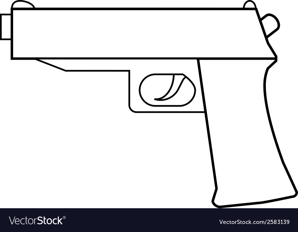 Gun vector | Price: 3 Credit (USD $3)