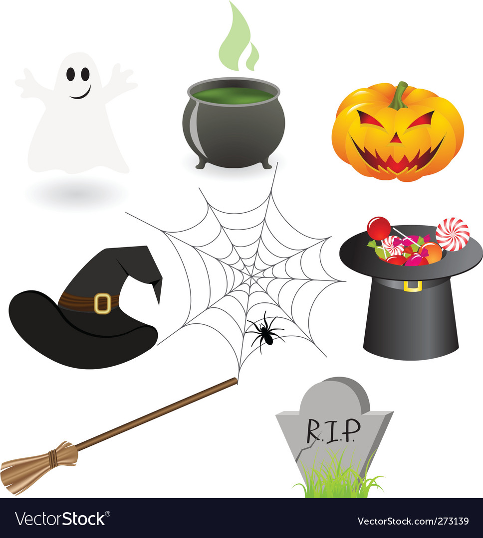 Halloween staff vector | Price: 1 Credit (USD $1)
