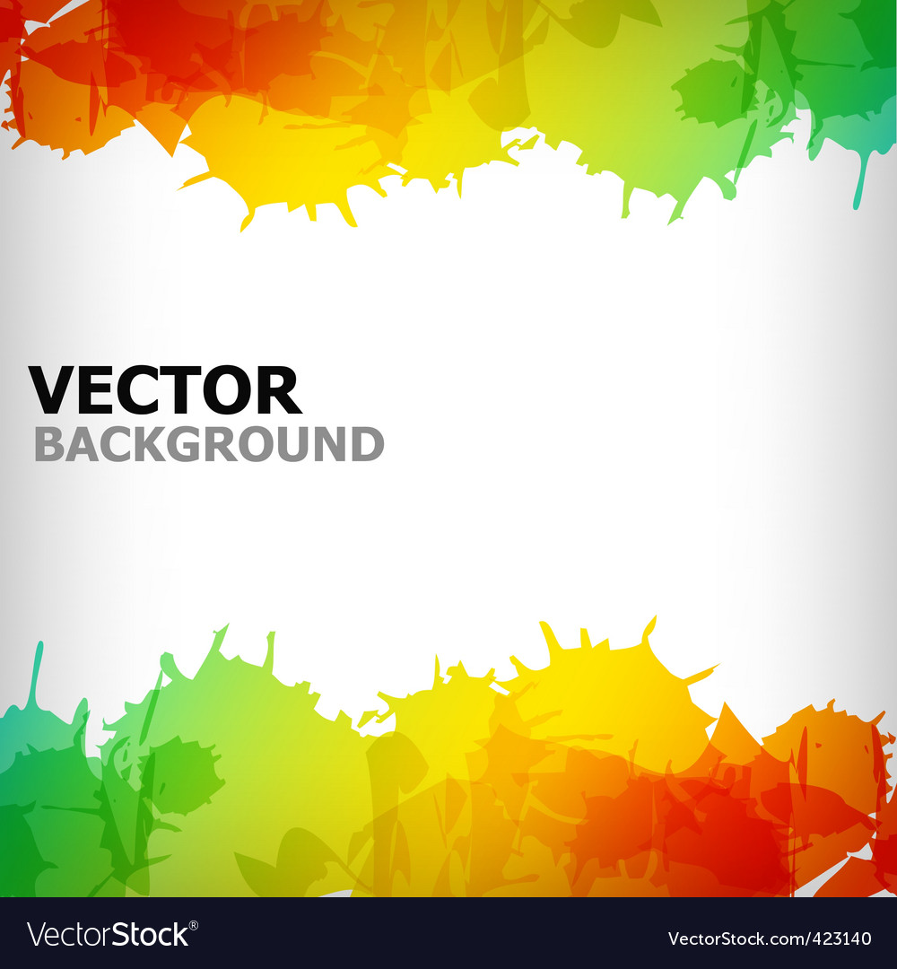 Abstract blot colorful background vector | Price: 1 Credit (USD $1)
