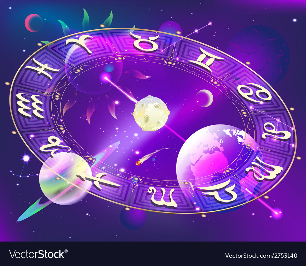 Horoscope circle vector | Price: 1 Credit (USD $1)