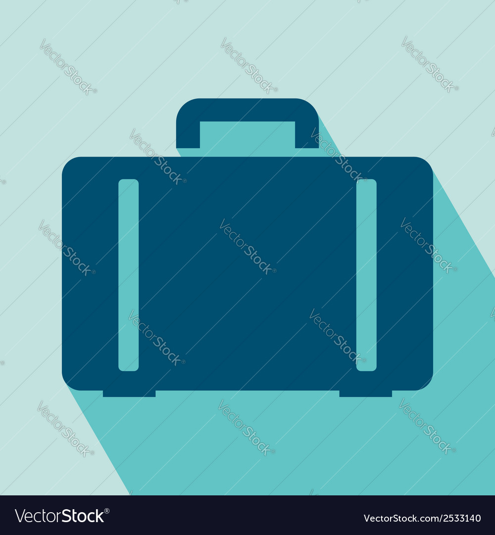 Luggage icon vector | Price: 1 Credit (USD $1)