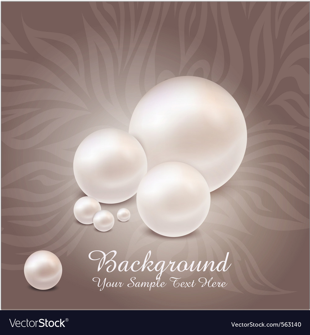 Luxurious pearl background vector | Price: 1 Credit (USD $1)
