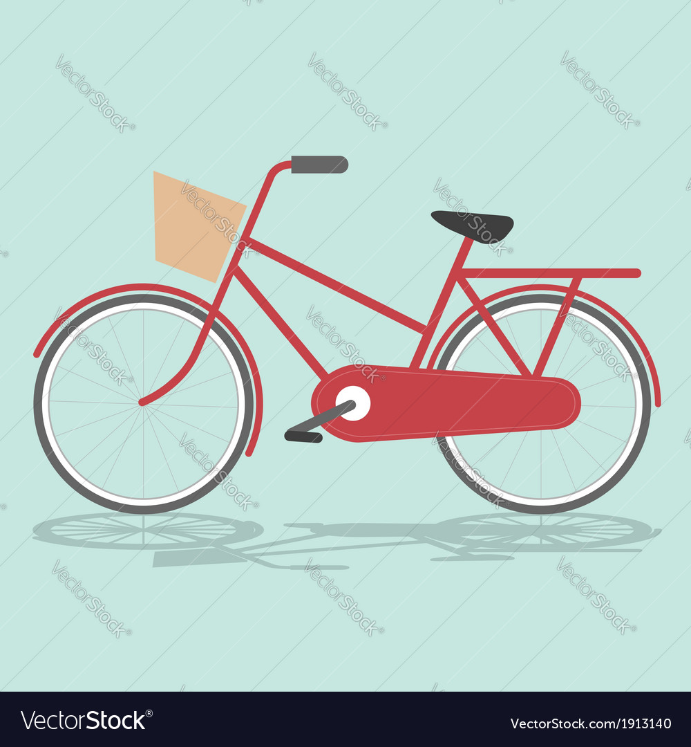 Vintage bicycle vector | Price: 1 Credit (USD $1)