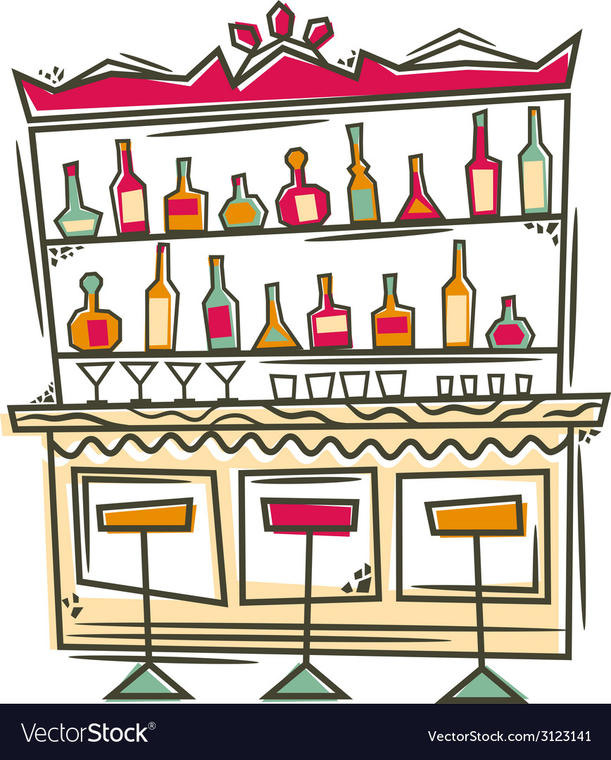 Bar vector | Price: 1 Credit (USD $1)