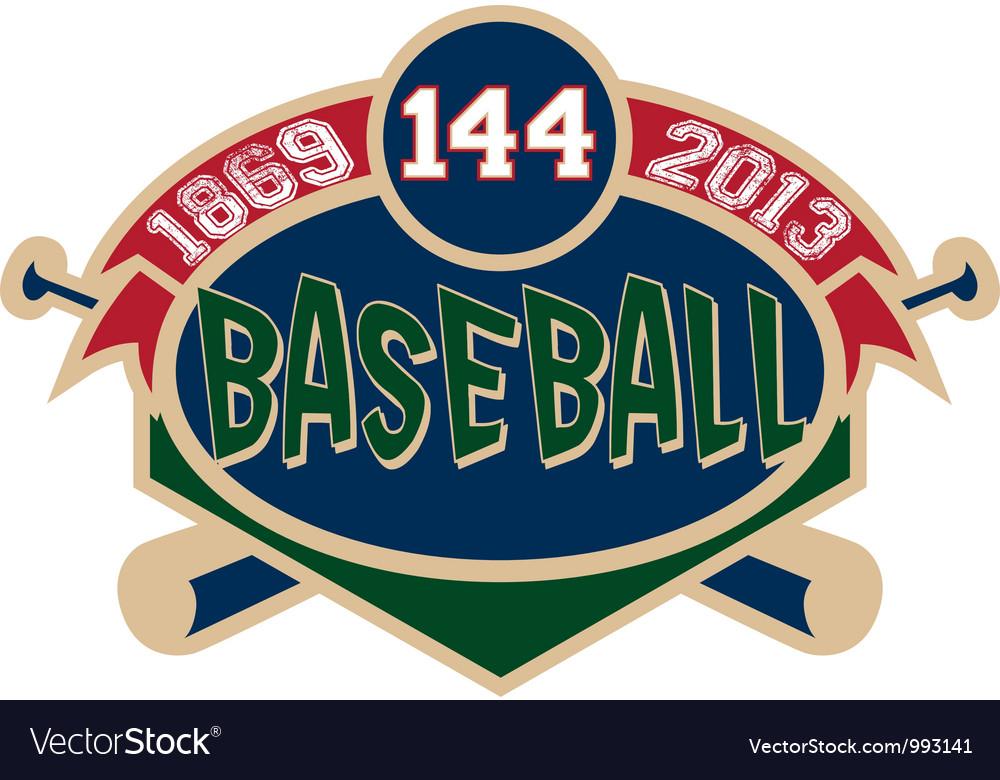Baseball logo vector | Price: 1 Credit (USD $1)
