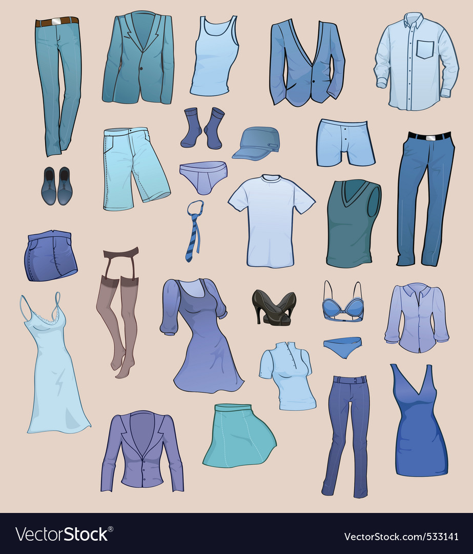 Clothing templates vector | Price: 1 Credit (USD $1)