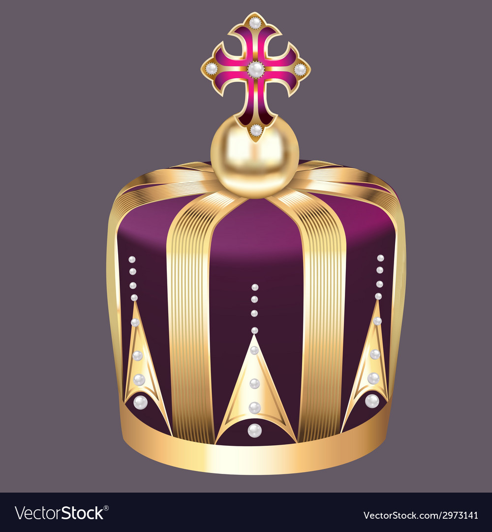 Imperial crown of gold vector | Price: 1 Credit (USD $1)