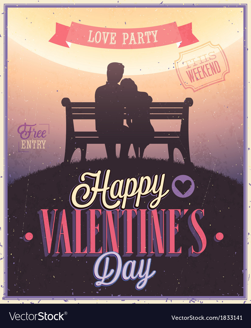 Valentine couple vector | Price: 3 Credit (USD $3)