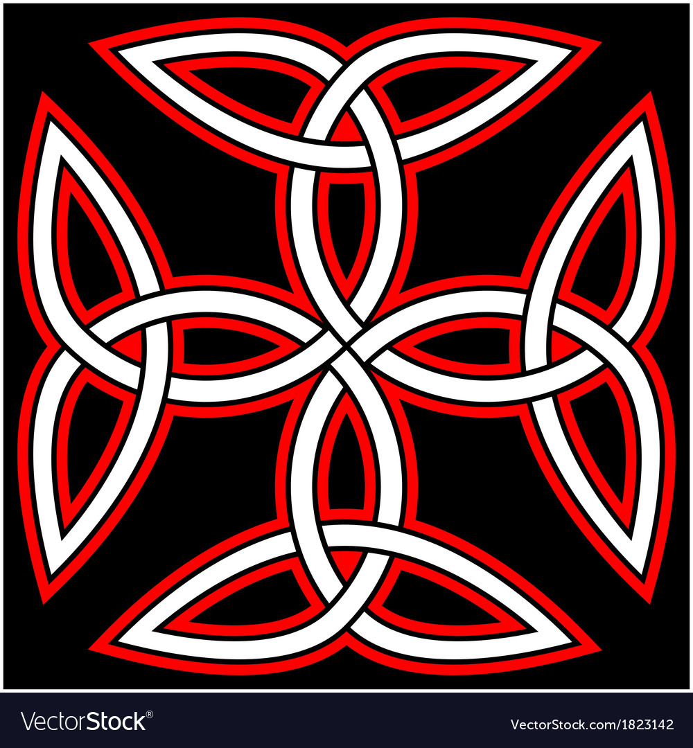 Celtic quaternary knot vector   Price: 1 Credit (USD $1)