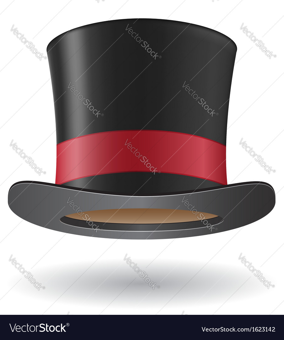 Cylinder hat vector | Price: 1 Credit (USD $1)