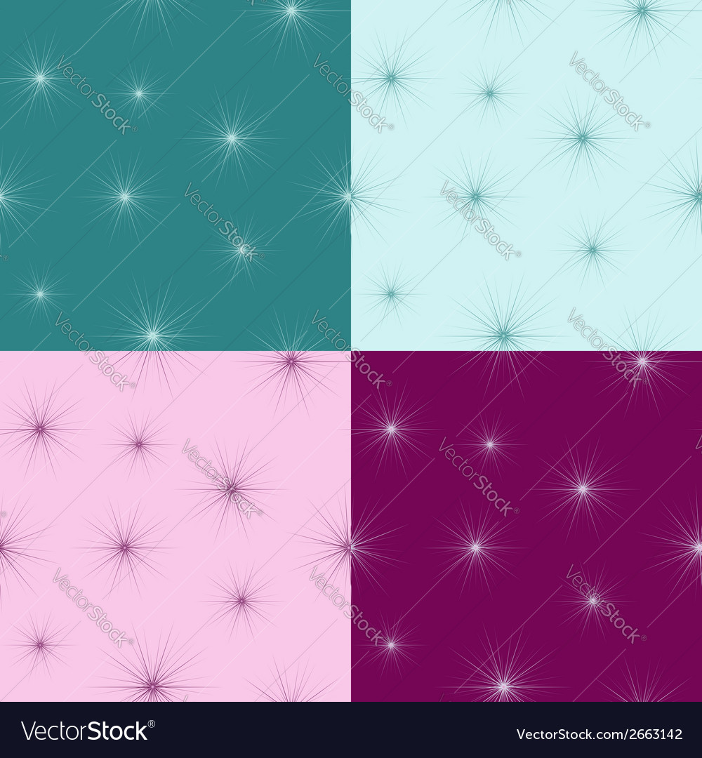 Seamless pattern with small fluff vector | Price: 1 Credit (USD $1)