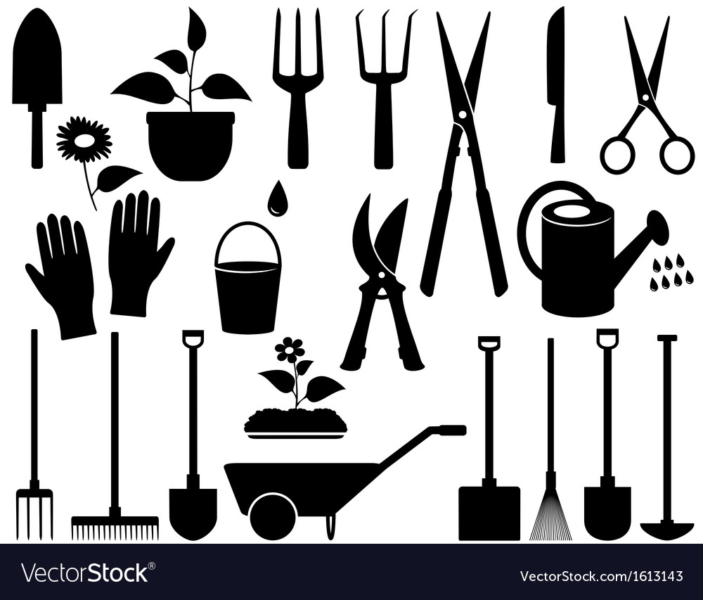 Isolated garden tools vector | Price: 1 Credit (USD $1)