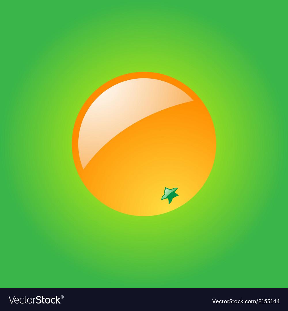 Glossy orange vector   Price: 1 Credit (USD $1)