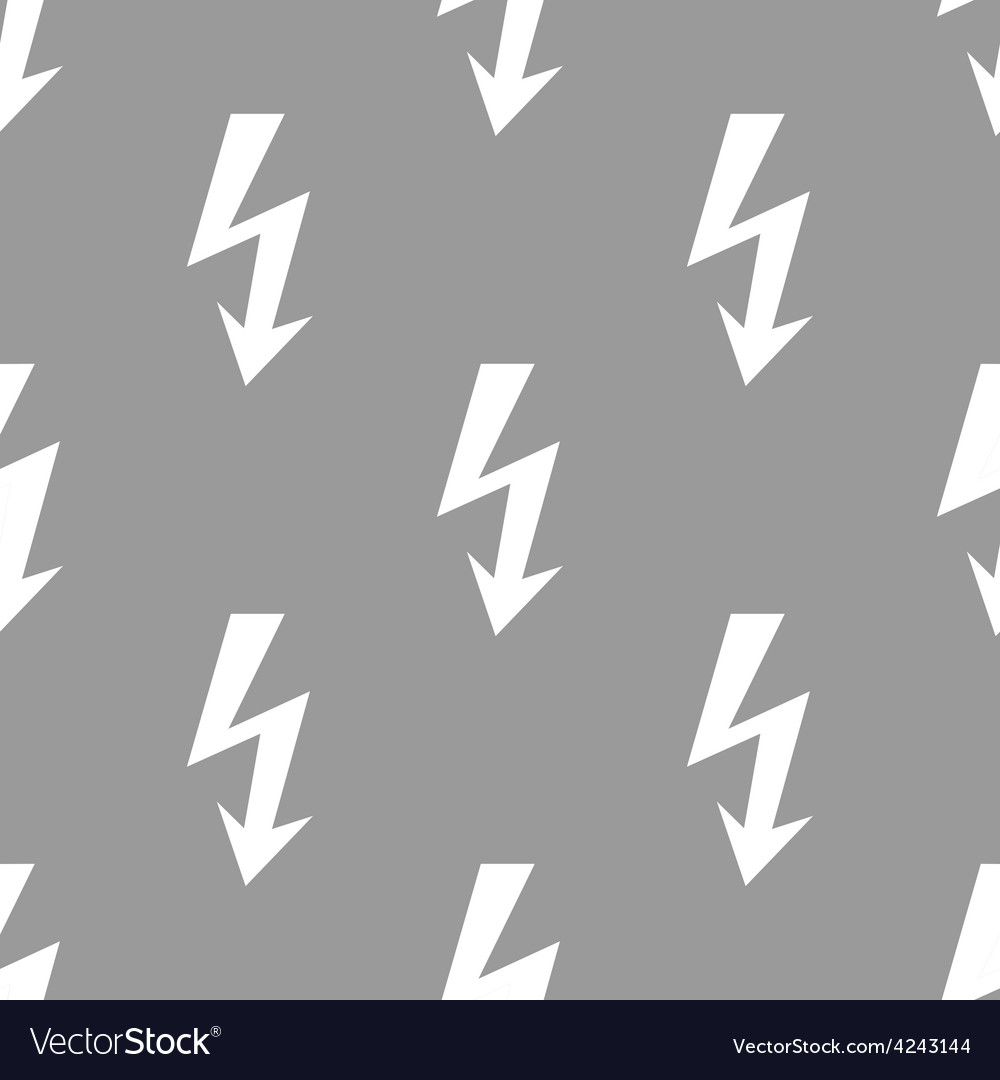 Lightning seamless pattern vector | Price: 1 Credit (USD $1)