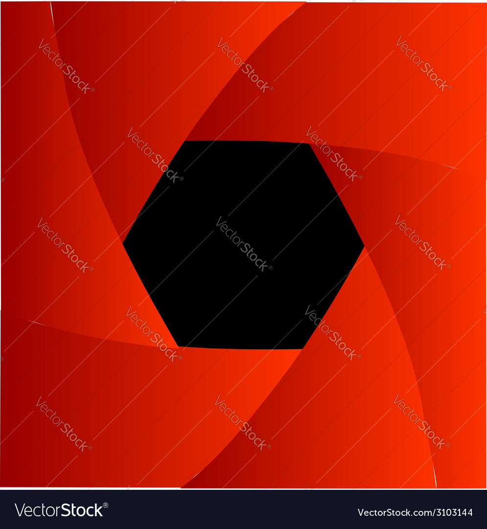 Shutter aperture background or design element vector | Price: 1 Credit (USD $1)