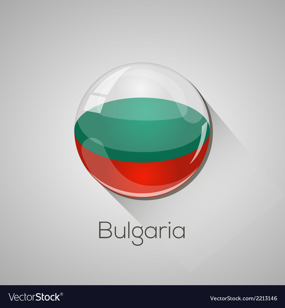 European flags set - bulgaria vector | Price: 1 Credit (USD $1)