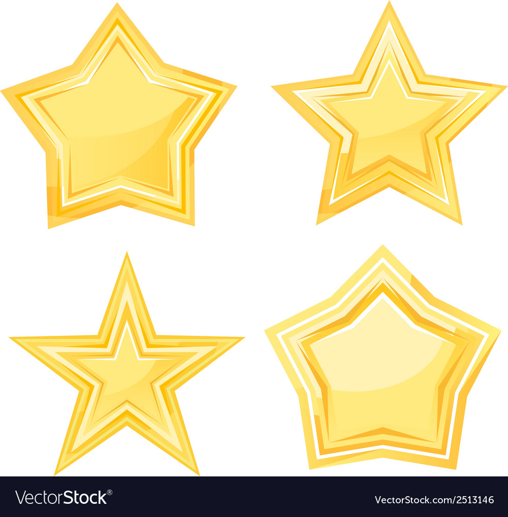 Golden stars vector | Price: 1 Credit (USD $1)