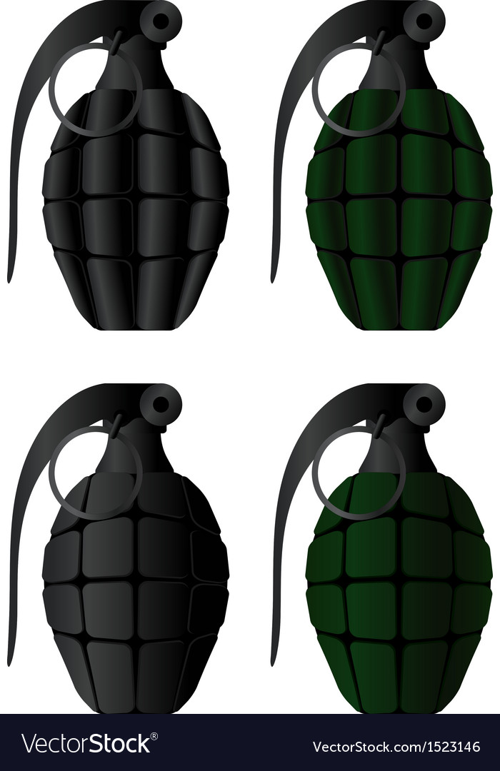 Grenades vector | Price: 1 Credit (USD $1)