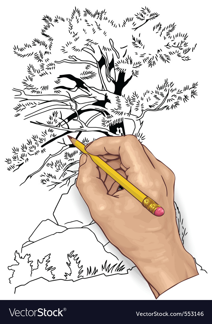 Hand drawing vector | Price: 3 Credit (USD $3)