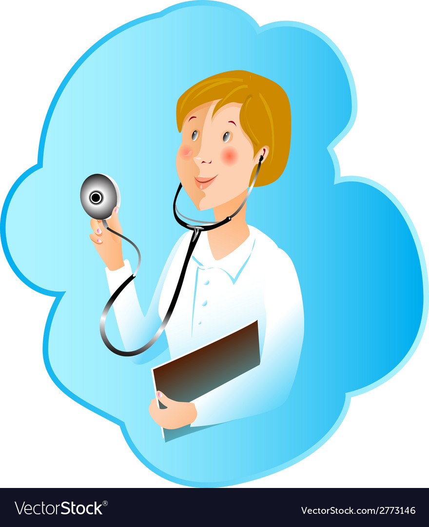 Profession medicine nurse vector | Price: 1 Credit (USD $1)