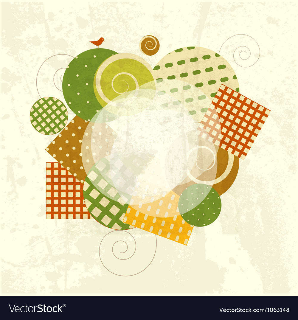Abstract modern frame vector | Price: 1 Credit (USD $1)