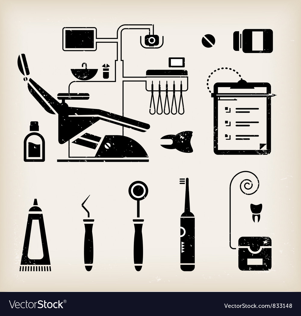 Dentist icon vector | Price: 1 Credit (USD $1)