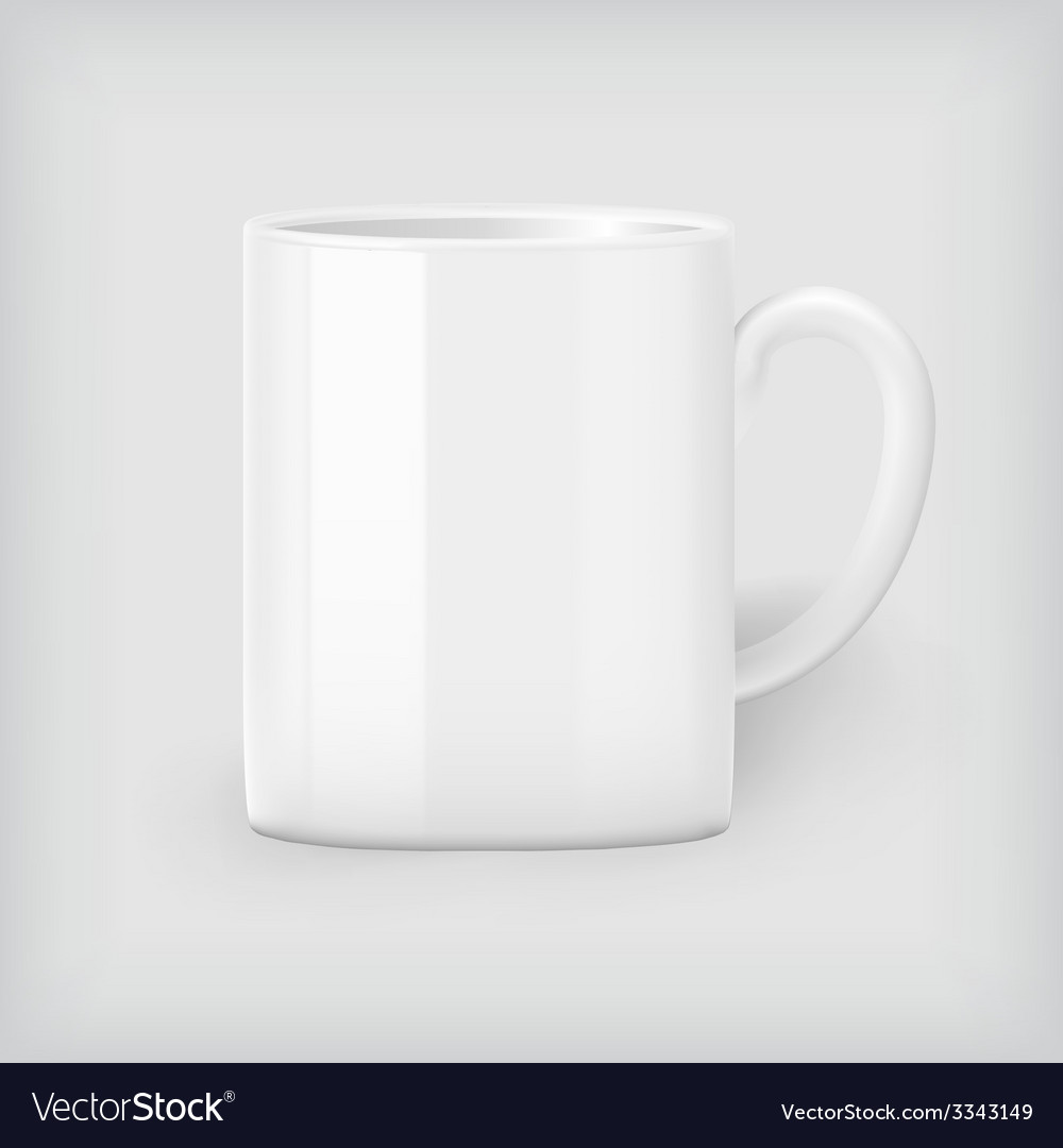 Coffee mug mock up vector | Price: 1 Credit (USD $1)