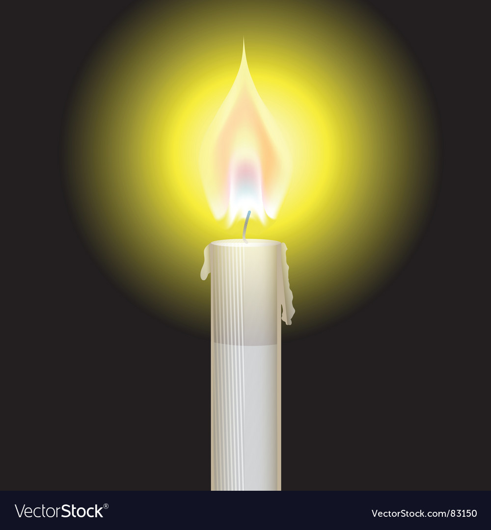 Candle flame vector   Price: 1 Credit (USD $1)