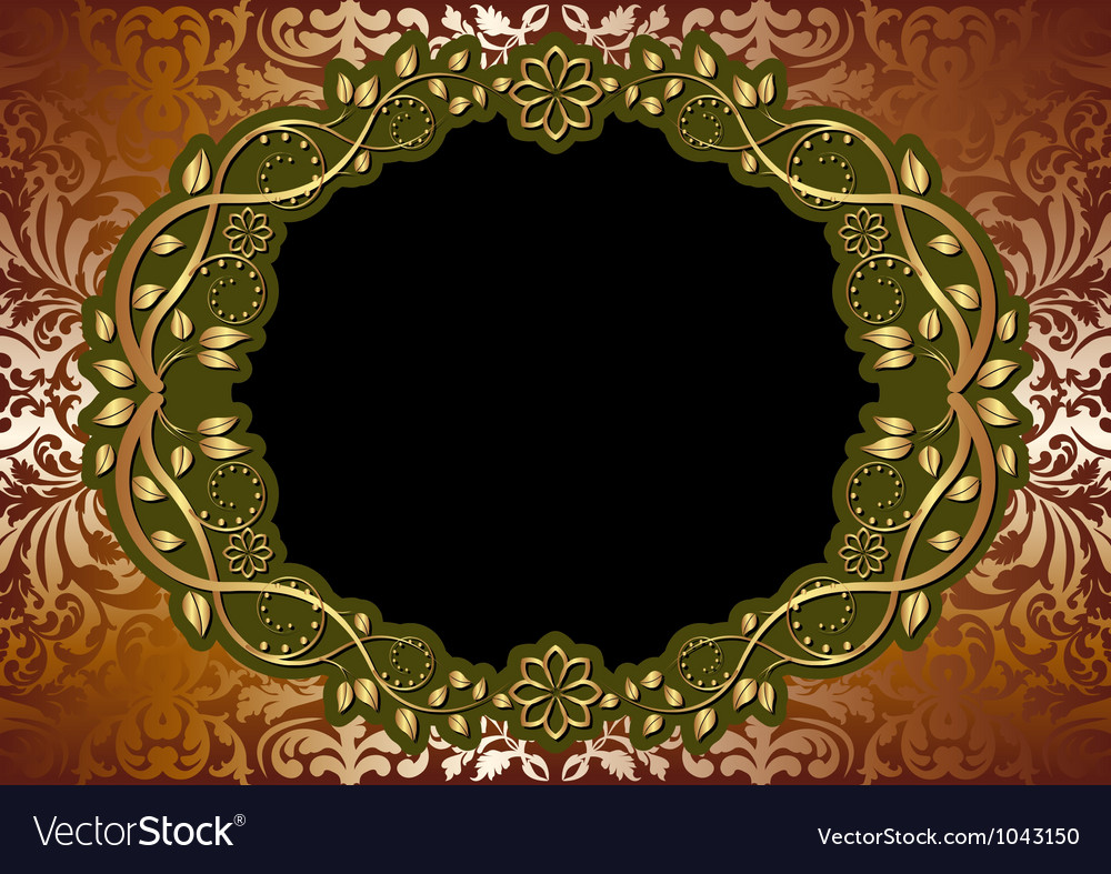 Gold brown background vector | Price: 1 Credit (USD $1)
