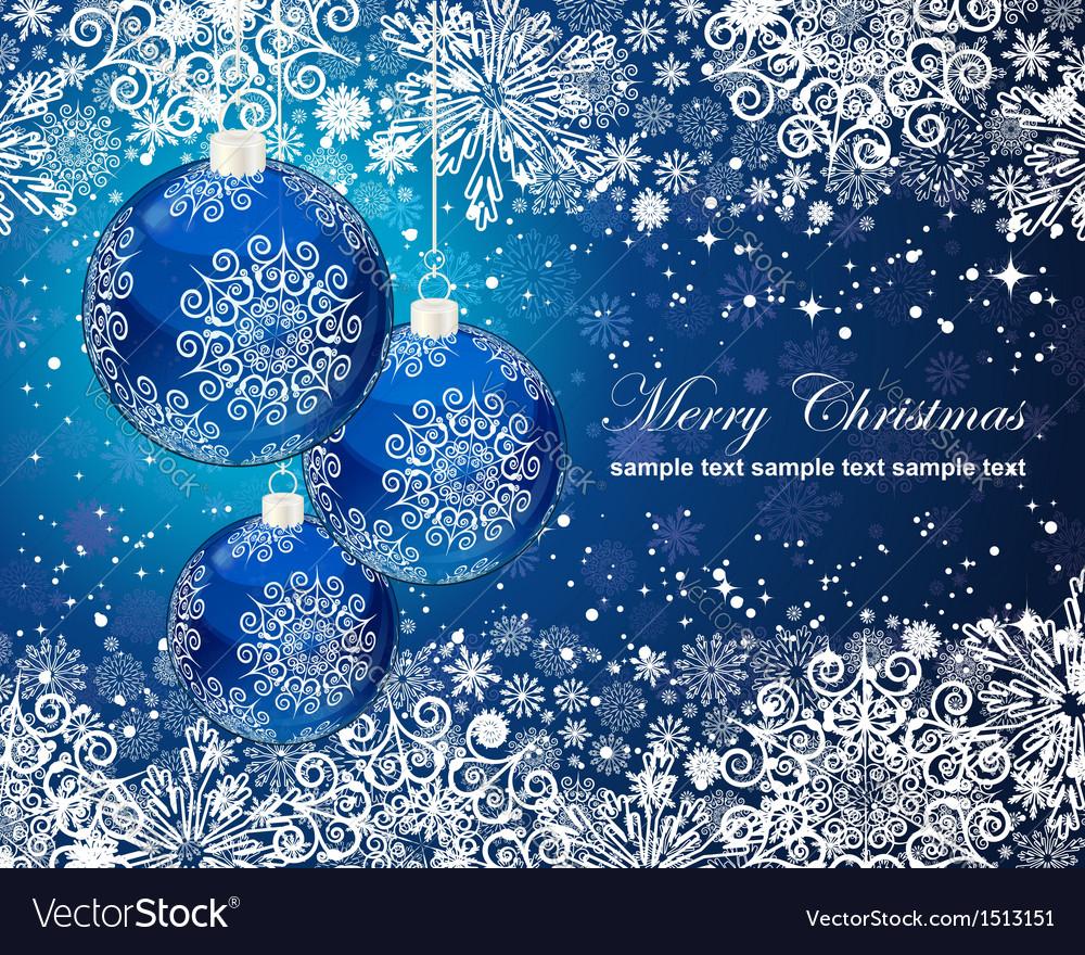 Christmas postcard vector | Price: 3 Credit (USD $3)