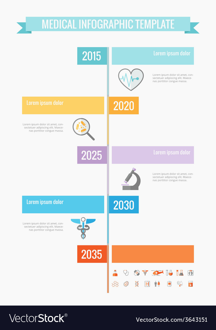 Medical infographic elements vector   Price: 1 Credit (USD $1)